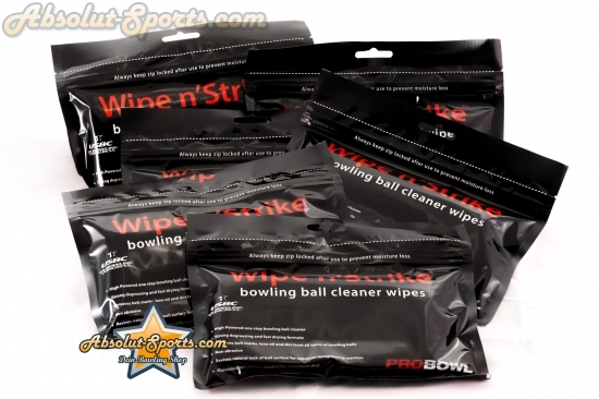 Bowlingball Reiniger Dr. Wipe Cleaner Wipes 6er Set