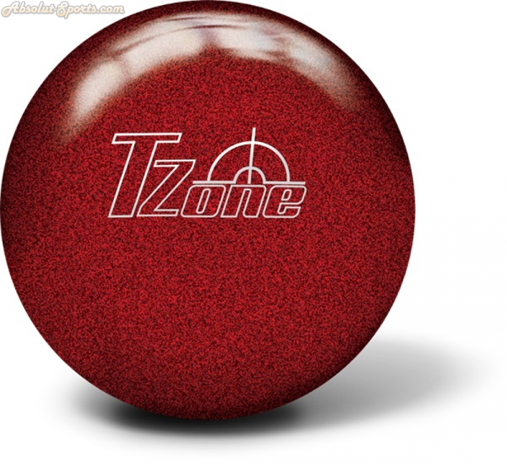 Brunswick TZone Cosmic Candy Apple Red
