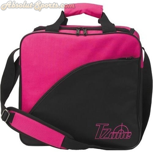 Brunswick 1 Ball Bowlingtasche T-Zone in pink/black