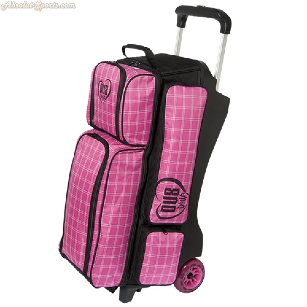 DV8 Deluxe Triple Roller Bowling Bag by DV8 Bowling Products