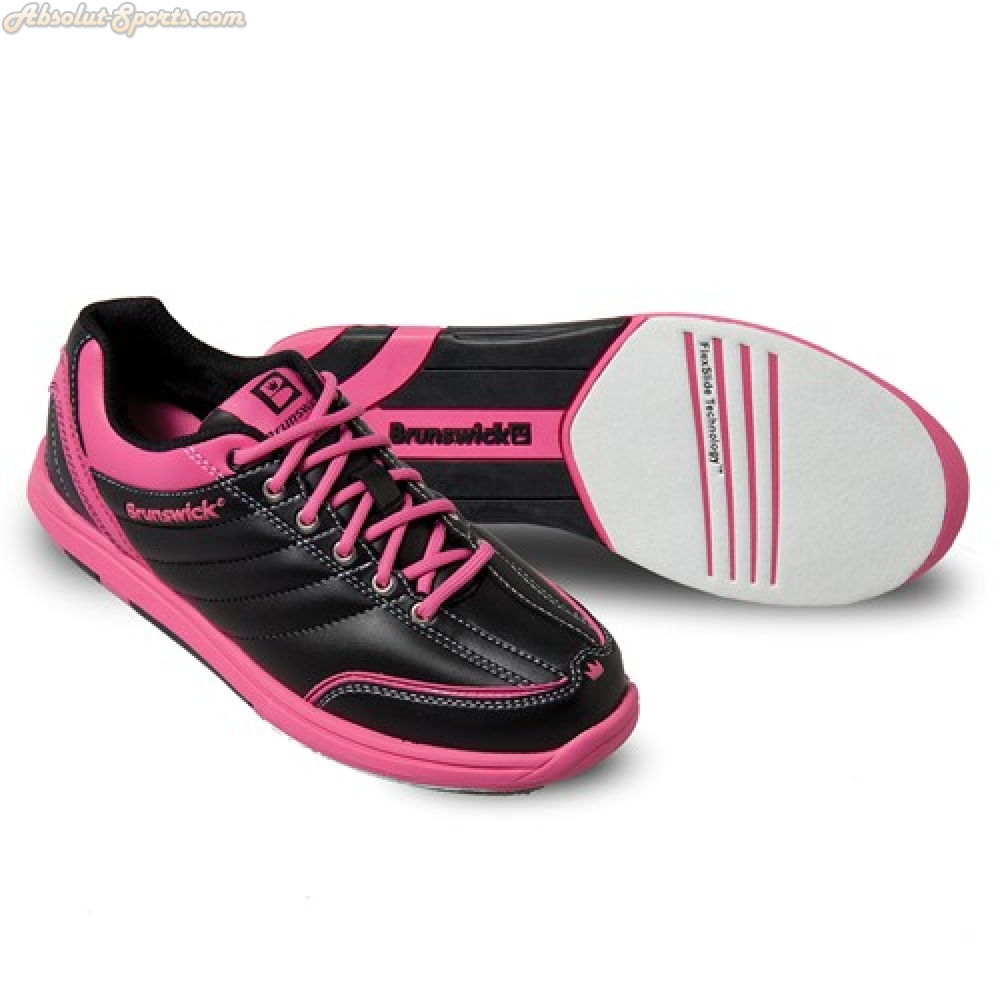 Damen Bowlingschuhe Brunswick Diamond black/hot pink (39.5)